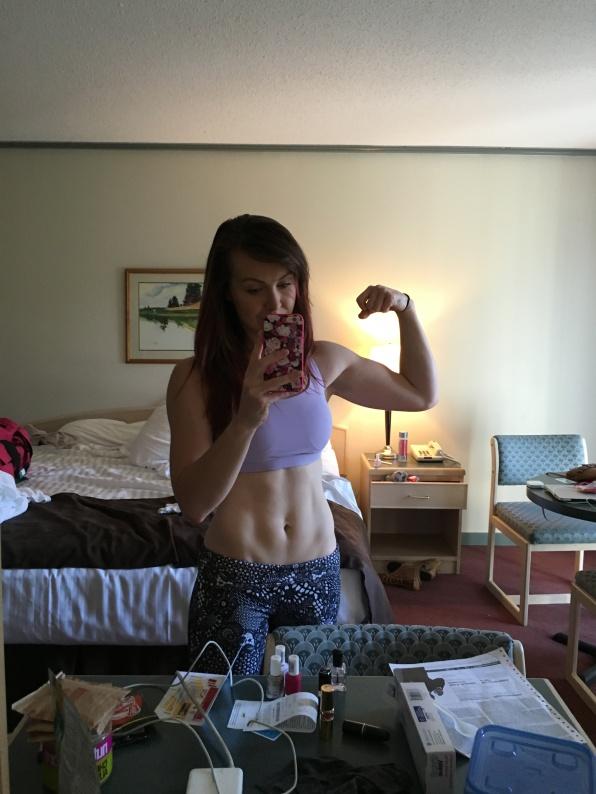 Mandatory pre-weigh in selfies